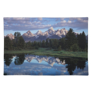 Wyoming, Grand Teton National Park 4 Cloth Placemat