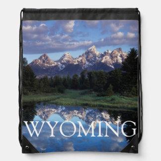 Wyoming, Grand Teton National Park 4 Drawstring Bag