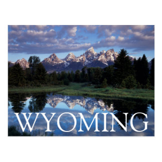 Wyoming, Grand Teton National Park 4 Postcard