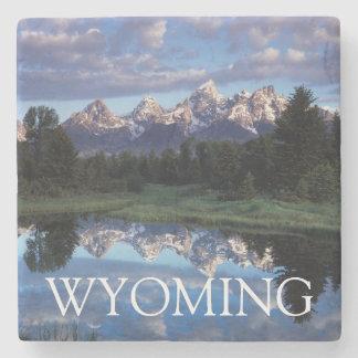 Wyoming, Grand Teton National Park 4 Stone Coaster
