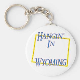 Wyoming - Hangin' Keychain