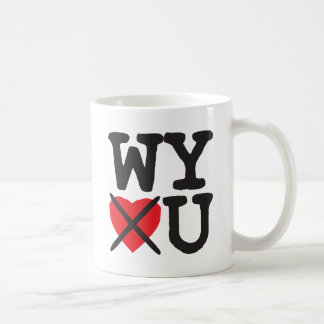 Wyoming Hates You Coffee Mug