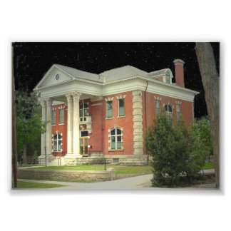Wyoming Historic Governor's Mansion Photo Print