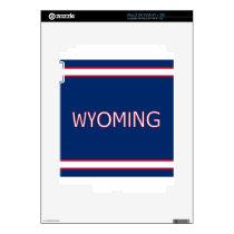 Wyoming iPad 2 Skin