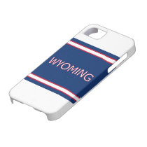 Wyoming iphone 5 Barely There Case