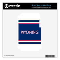 Wyoming iPod Touch 4th Gen Skin