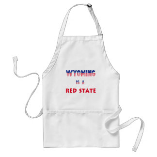 Wyoming is a Red State Aprons