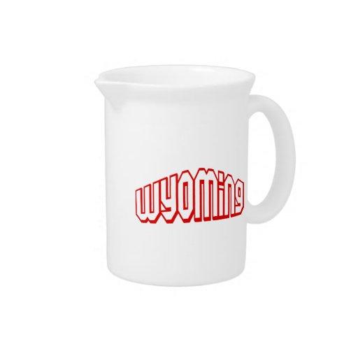 Wyoming Jarra Para Bebida