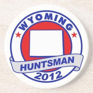 Wyoming Jon Huntsman Beverage Coaster