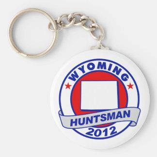Wyoming Jon Huntsman Key Chain