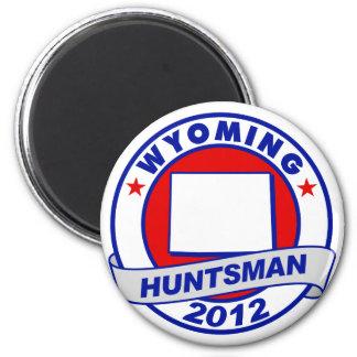 Wyoming Jon Huntsman Fridge Magnet