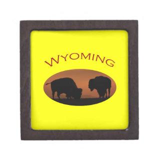 Wyoming Keepsake Box