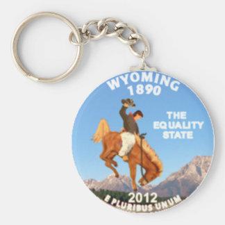 Wyoming Key Chains