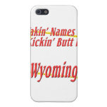 Wyoming - Kickin' Butt Cases For iPhone 5