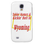 Wyoming - Kickin' Butt Galaxy S4 Case