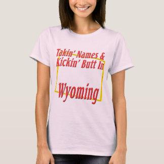 Wyoming - Kickin' Butt T-Shirt