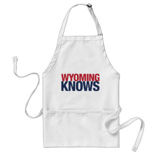 Wyoming Knows Adult Apron