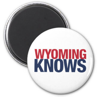Wyoming Knows Magnet
