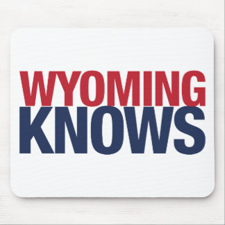 Wyoming Knows Mouse Pad