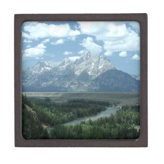 Wyoming Landscape Premium Gift Box