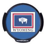 Wyoming LED Car Decal