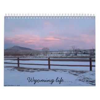 Wyoming life wall calendars
