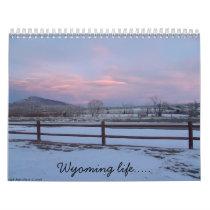 Wyoming life... calendar
