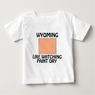 Wyoming - Like Watching Paint Dry Baby T-Shirt