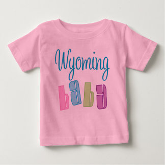 Wyoming lindo embroma la camiseta