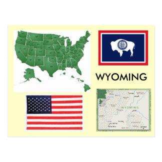 Wyoming, los E.E.U.U. Tarjetas Postales
