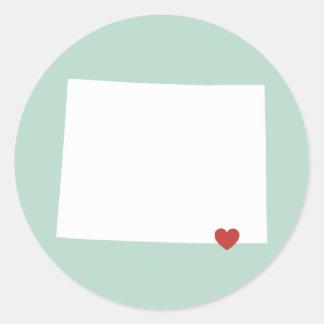 Wyoming Love - Customizable Sticker