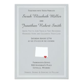 Wyoming Love - Customizable Wedding Invitation