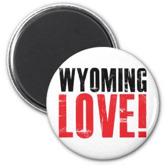 Wyoming Love Magnet