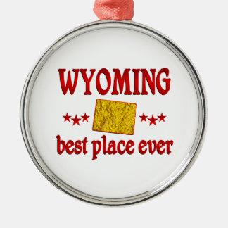 Wyoming mejor ornamento para arbol de navidad