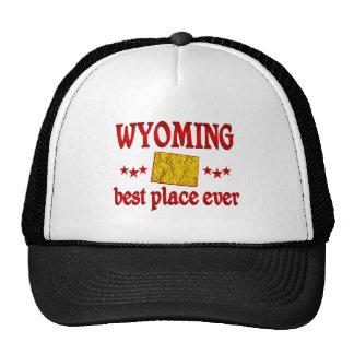 Wyoming mejor gorras