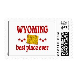 Wyoming mejor franqueo