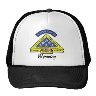 Wyoming Military Funeral Honors Trucker Hat