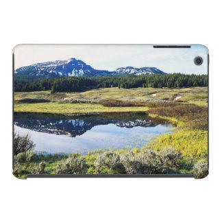 Wyoming, montañas rocosas, pico de montaña de A Funda De iPad Mini