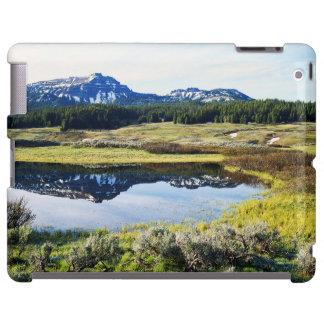 Wyoming, montañas rocosas, pico de montaña de A Funda Para iPad