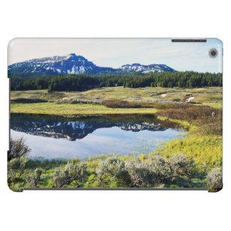 Wyoming, montañas rocosas, pico de montaña de A Funda Para iPad Air