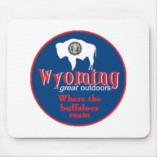 WYOMING MOUSE PAD