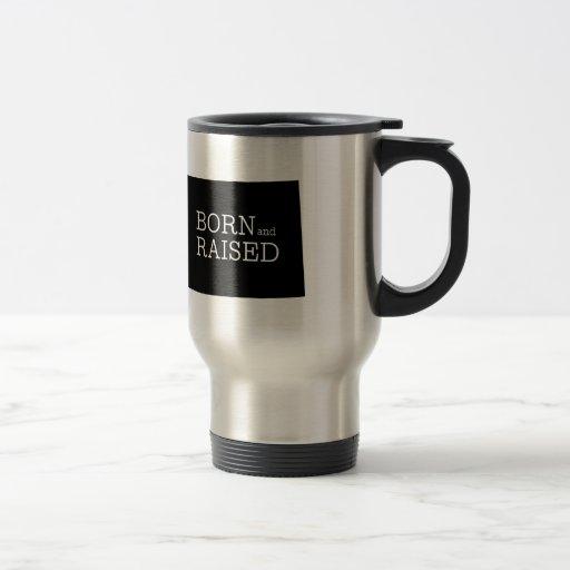 Wyoming nacido y aumentado taza de café