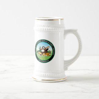 Wyoming orgánico jarra de cerveza