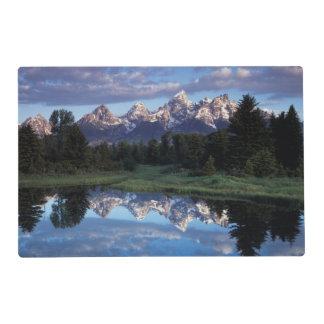 Wyoming, parque nacional magnífico 4 de Teton Salvamanteles