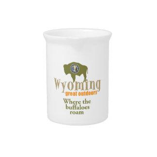 Wyoming Beverage Pitcher