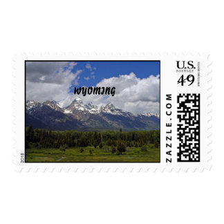 WYOMING POSTAGE STAMPS