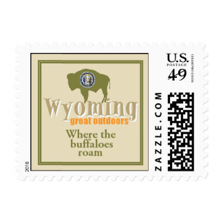 WYOMING POSTAGE