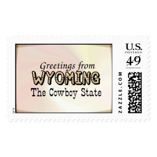 Wyoming Postage
