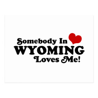 Wyoming Postcard