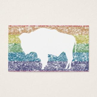 wyoming rainbow business card